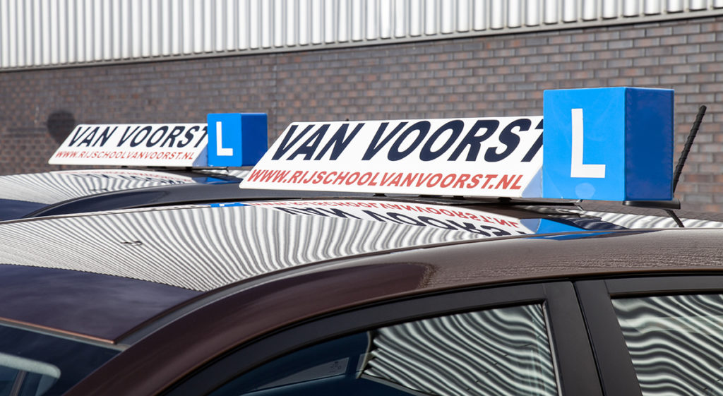 Geslaagd bij Rijschool van Voorst in Alkmaar