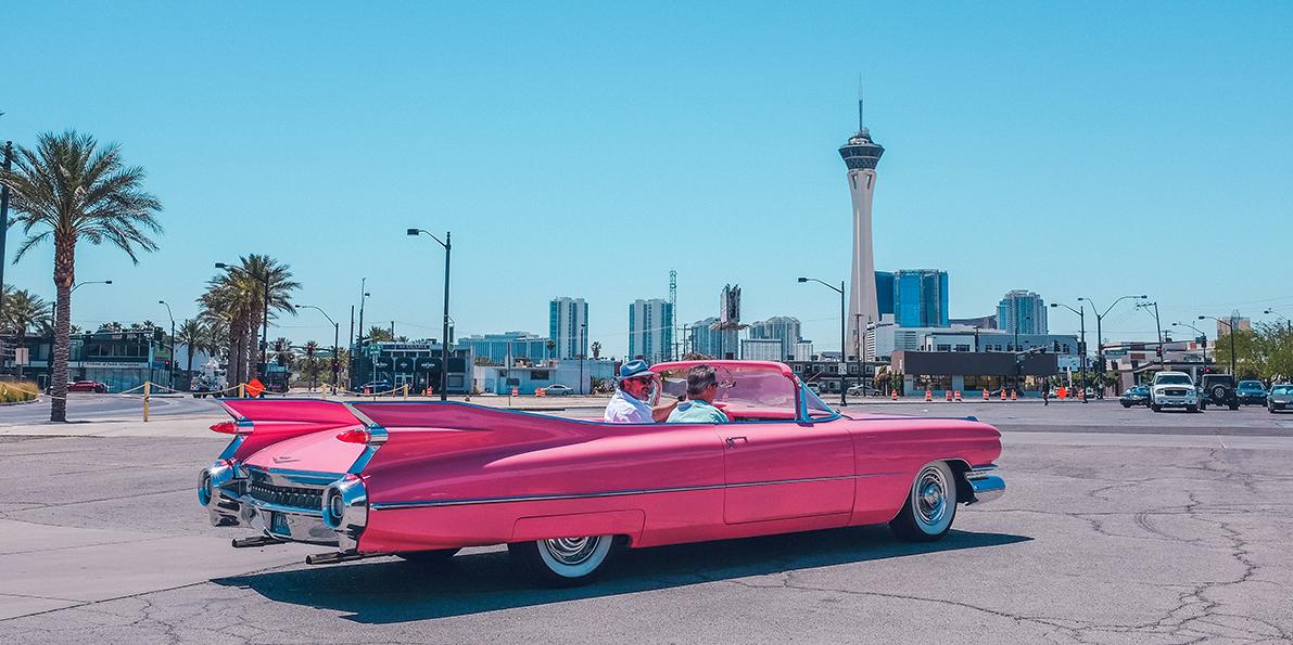 eerste auto - roze?